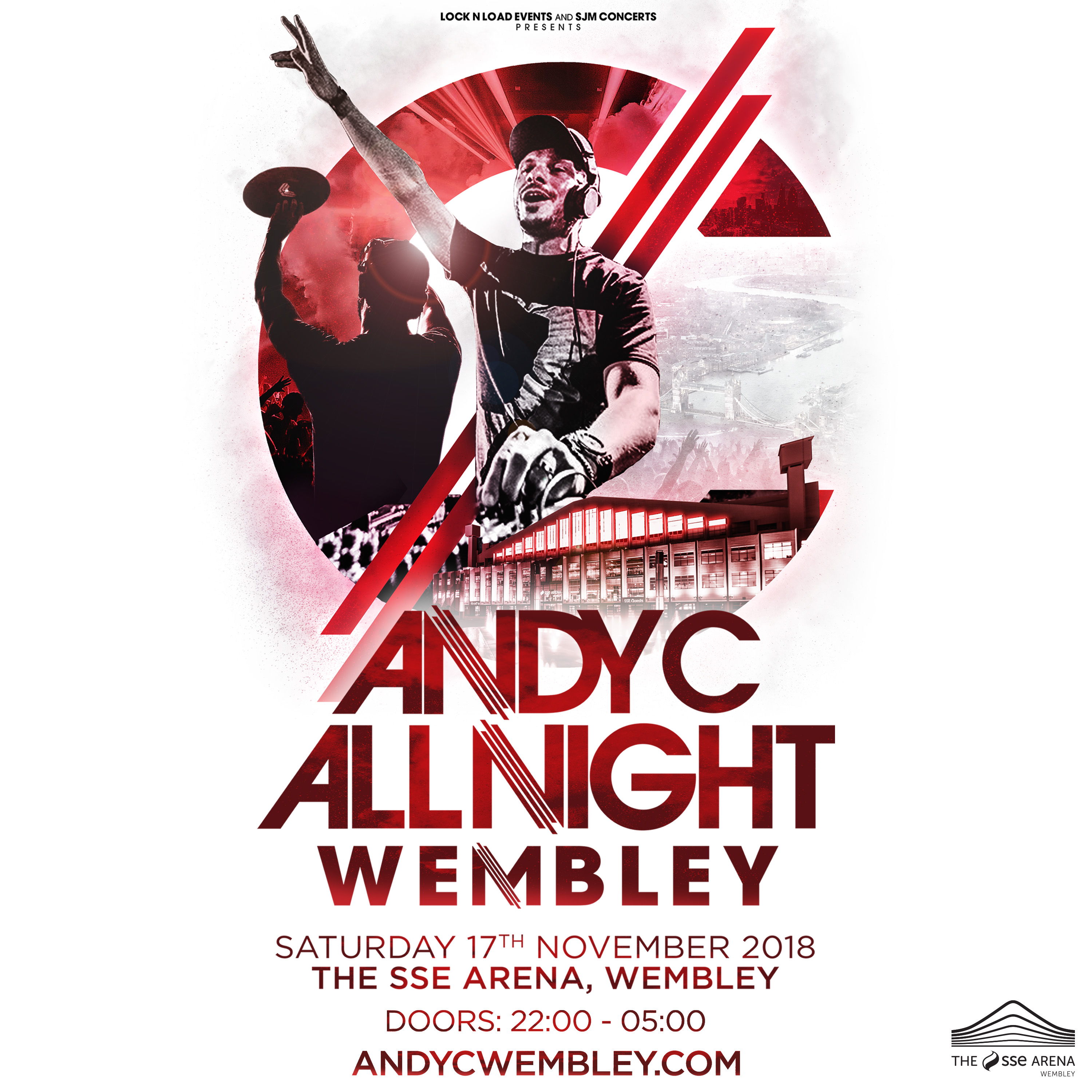 ANDY C ALL NIGHT AT WEMBLEY ARENA!